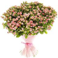 Bouquet of small bush roses - flowers and bouquets on df.ua