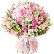 Bouquet of delicate flowers - flowers and bouquets on df.ua