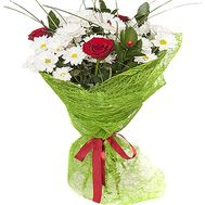 """Flowers for a friend"" in the online flower shop df.ua"