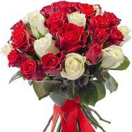 Длинные розы букет - цветы и букеты на df.ua