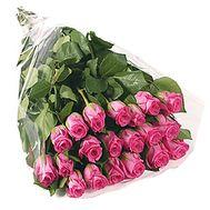 Голландские розовые розы - цветы и букеты на df.ua