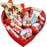"""""""Kinder surprise box to buy"""" in the online flower shop df.ua"""