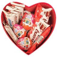"""""""Candy in a box in the shape of a heart"""" in the online flower shop df.ua"""