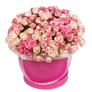 Box of bush roses - flowers and bouquets on df.ua