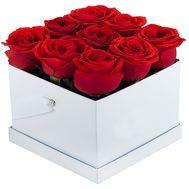 Коробка з трояндами - цветы и букеты на df.ua
