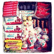 Коробка сладостей - цветы и букеты на df.ua
