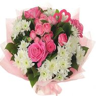 Beautiful flowers for the wife - flowers and bouquets on df.ua