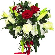 Festive bouquet of flowers - flowers and bouquets on df.ua
