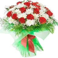 Lush bouquet - flowers and bouquets on df.ua