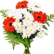 """A real bouquet of flowers"" in the online flower shop df.ua"