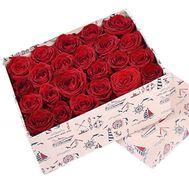 Розы в коробке - цветы и букеты на df.ua