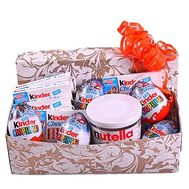 """""""Sweets in the box for the birthday"""" in the online flower shop df.ua"""