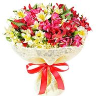Alstroemeria in a bouquet - flowers and bouquets on df.ua