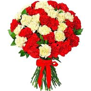 Large bouquet of carnations - flowers and bouquets on df.ua