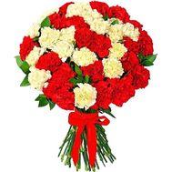 Большой букет гвоздик - цветы и букеты на df.ua