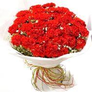 Букет 55 гвоздик купить - цветы и букеты на df.ua