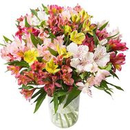 Bouquet of 25 alstromeries - flowers and bouquets on df.ua