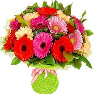 Bouquet of gerbera flowers - flowers and bouquets on df.ua