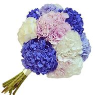 Bouquet of hydrangea flowers - flowers and bouquets on df.ua
