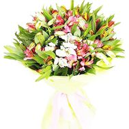 Bouquet with alstroemerias - flowers and bouquets on df.ua