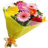 Bouquet with gerberas - flowers and bouquets on df.ua