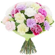 Bouquet with carnations - flowers and bouquets on df.ua
