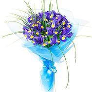 Bouquet with irises - flowers and bouquets on df.ua