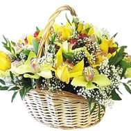 Композиция в корзине - цветы и букеты на df.ua