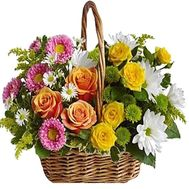 Basket of flowers - flowers and bouquets on df.ua