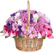 Flower basket for girls - flowers and bouquets on df.ua