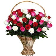 Basket of flowers for the beloved - flowers and bouquets on df.ua