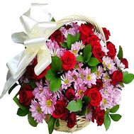 Flower basket for dad - flowers and bouquets on df.ua