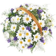 Кошик квітів для дитини - цветы и букеты на df.ua