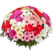 Birthday basket of flowers - flowers and bouquets on df.ua