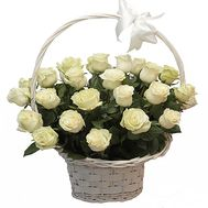 Wedding flowers basket - flowers and bouquets on df.ua