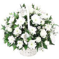 Корзинка цветов - цветы и букеты на df.ua