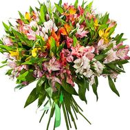 Beautiful bouquet of alstroemeria - flowers and bouquets on df.ua