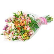 Beautiful bouquet of alstroemerias - flowers and bouquets on df.ua