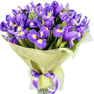 Buy bouquet of irises - flowers and bouquets on df.ua