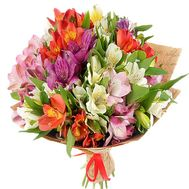 Buy bouquet of alstroemerias - flowers and bouquets on df.ua