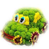 Машина из цветов - цветы и букеты на df.ua