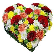 Heart of flowers - flowers and bouquets on df.ua