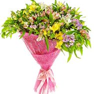 Chic bouquet of alstroemerias - flowers and bouquets on df.ua