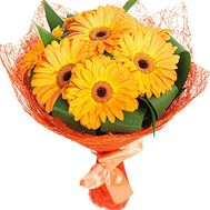 """Sunny bouquet of gerberas"" in the online flower shop df.ua"