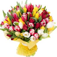 101 tulip to buy - flowers and bouquets on df.ua