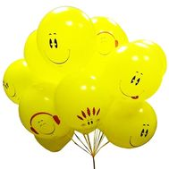 15 smiley balls - flowers and bouquets on df.ua