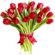 21 scarlet tulip - flowers and bouquets on df.ua