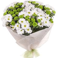 25 chrysanthemums - flowers and bouquets on df.ua