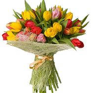 35 tulips - flowers and bouquets on df.ua