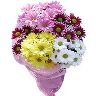5 chrysanthemums bouquet - flowers and bouquets on df.ua